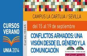 """Caddy Adzuba, Premio Príncipe de Asturias en el Curso sobre """"CONFLICTOS ARMADOS, GÉNERO y COMUNICACIÓN""""."""