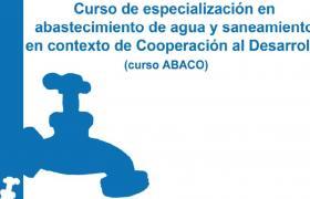 Curso especializado sobre Agua y Cooperación.