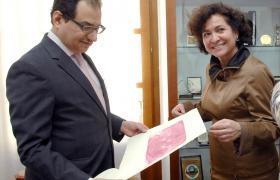 El Embajador de Arabia Saudí visita la Euroárabe y se interesa por sus proyectos