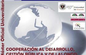 Este lunes se inicia la III edición del  MÁSTER OFICIAL de COOPERACIÓN al DESARROLLO