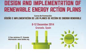 Expertos de 12 países árabes se forman en Energías Renovables en Granada.