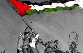 """Exposición """"Historia e identidad palestina a través de su humor gráfico"""" hasta el 8 de mayo"""