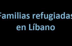 FAMILIAS REFUGIADAS EN LÍBANO. Concurso de relatos