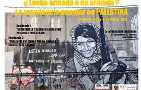"""Jornadas """"LA RESISTENCIA POPULAR EN PALESTINA"""" -  4 de marzo"""
