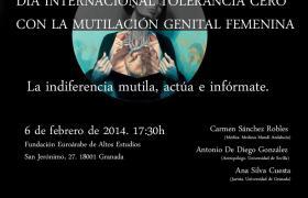 Jornadas sobre 'MUTILACIÓN GENITAL FEMENINA'