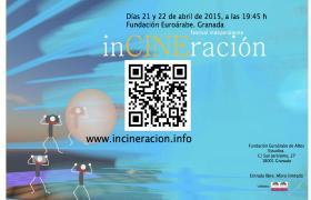 """La 19 edición de """"inCINEración"""" se celebra esta semana en la Euroárabe - 21 y 22 de abril"""
