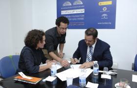 La Euroárabe y la Fundación Al-Anood suscriben un convenio de cooperación