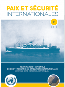 Revista 'PAIX ET SÉCURITÉ INTERNATIONALES' se edita en su segunda época en online