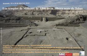 Seminario internacional 'TEMPLOS DE LA RIBERA OESTE DE TEBAS'