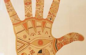 Taller de TATUAJE CON HENNA en los Encuentros de la Cultura AMAZIGH