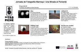 'UNA MIRADA AL PONIENTE'  Jornada de Fotografía Marroquí en la Euorárabe
