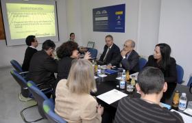 Visita del Embajador de Marruecos en España a la Fundación Euroárabe