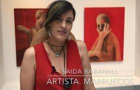 "Embedded thumbnail for Entrevista a Saida Babahall - ""El exilio del alma"""
