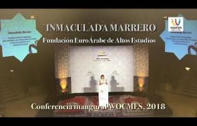 Embedded thumbnail for Conferencia inaugural de Inmaculada Marrero en el Congreso WOCMES 2018
