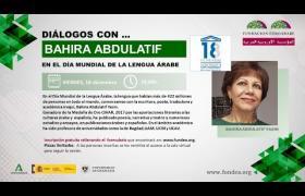 Embedded thumbnail for DIÁLOGOS CON... Bahira Abdulatif en el Día Mundial de la Lengua Árabe