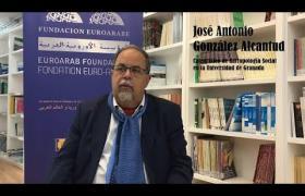 Embedded thumbnail for Entrevista a JOSÉ ANTONIO GONZÁLEZ ALCANTUD