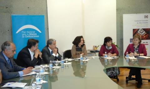 Encuentro en la Euroárabe de una delegación de la Liga Árabe sobre energia solar
