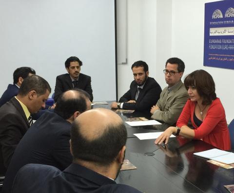 La Euroárabe recibe a una representación de la Universidad Madinah de Arabia Saudí